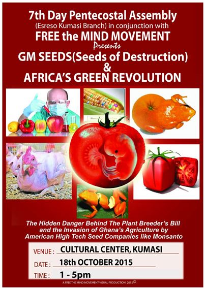 GM Seeds (Seeds of Destruction) & Africa's Green Revolution